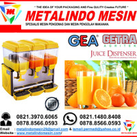 mesin jus dispenser harga murah & juice dispenser LP-133 gea