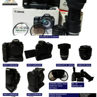 Kamera DSLR CANON 60D EF-S 18-200 KIT (SECOND)