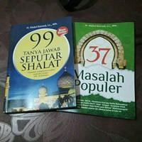Buku 37 Masalah Populer Dan 99 Tanya Jawab Seputar Sholat