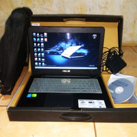 laptop Asus a455ld core i3 HASWELL nvidia 820 fullset