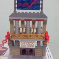 SEMBO BLOCK MODEL STOCK EXCHANGE SUDAH JADI