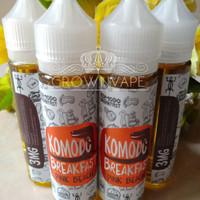 Jual Komodo Breakfast Pink Beach 60ml/3mg - Local Premium Liquid Murah