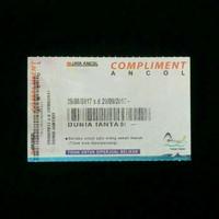 tiket dufan ancol (khusus Weekdays)