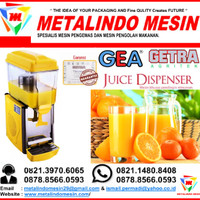 juice dispenser LP-121 gea & jual mesin jus dispenser 1 tabung murah