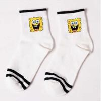 S45 Skate Vans kaos kaki impor Sock Spongebob Edition - Sponge Bob