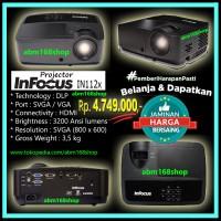 Projector INFOCUS IN112x HDMI SVGA New Proyektor Infokus In 112x In112