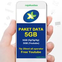 perdana/PAKET DATA INTERNET XL, KUOTA XL XTRA COMBO M 6GB