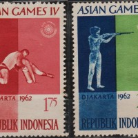 10170	INDONESIA MINT 4V 1962 ASIAN GAMES