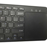 Promo Keyboard Wireless dengan Touchpad / smart tv / samsung / LG /