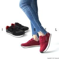 Harga isabel sepatu kets wanita fiona sneakers hitam | antitipu.com