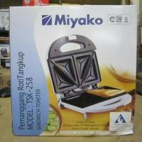 Toaster Miyako Alat Pemanggang Roti TSK258 Daya Listrik Murah