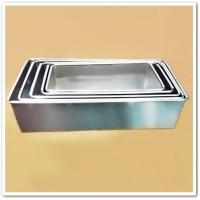 Loyang Aluminium Oven 1 set untuk Kue Roti Brownies & Kue Basah