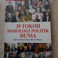 ORIGINAL 39 TOKOH SOSIOLOGI POLITIK DUNIA BUKU SEJARAH