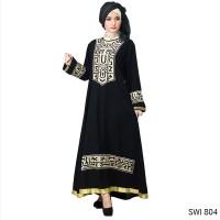 SWI 804 | Baju Gamis Wanita Muslim branded Inficlo 2018