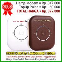 Modem WiFi MiFi Smartfren Andromax M3Y 4G LTE (KUOTA 30 GB)