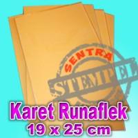 Karet Stempel Runaflek / Bahan Stempel