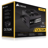 Corsair CX750M/CX 750 M 80+ Bronze CX Series Modular ATX PSU