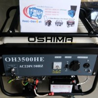 Genset Honda Oshima 2.000w Tipe OH3500HE