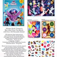 Buku anak Sticker Book Treasury MY LITTLE PONY THE MOVIE