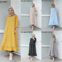 hijab gaya baru / Baju wanita busui / Tunik murah : Velove longtuniq