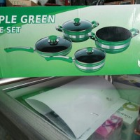 panci set apple green