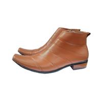 sepatu kulit pantofel ankle boots alexander shoes