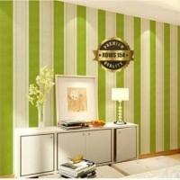 Stripe Green 45cm x 10mtr wallpaper sticker