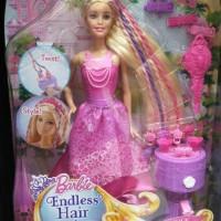Bom Bom Toys Barbie ENDLESS HAIR KINGDOM SNAP and STYLE
