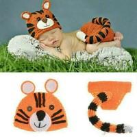 Kostum Topi Rajut Foto Bayi / Baby Newborn Costume / Properti Photo 18