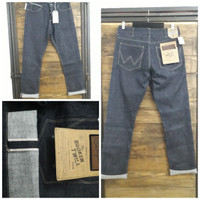 New Celana Jeans Wrangler Spencer Selvedge slimfit
