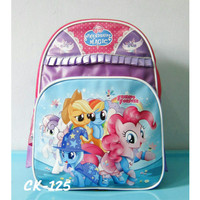 Tas Anak TK -Tas Ransel My Little Pony Renda - Tas Sekolah Anak