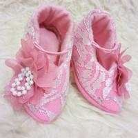 Jual Baby high heels Sha-7hu /Sepatu high heels bayi Sha-7u tanpa bandana Murah