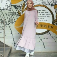 syora maxi dress / jual baju murah grosir gamis busana Muslim pesta