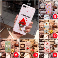 Case Fruits+Ring Oppo F5 F3 A37 A39 A57 A71 Plus Softcase Buah Casing