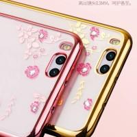 Xiaomi Mi6 Mi 6 soft case casing hp cover ultra thin bunga TPU FLOWER