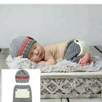 Kostum Topi Rajut Foto Bayi / Baby Newborn Costume / Properti Photo 8