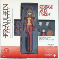 Revoltech fraulein Shikinami Asuka Langley Evangelion