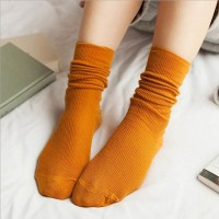 S47 Long Retro vintage Tumblr sock kaos kaki impor - Import