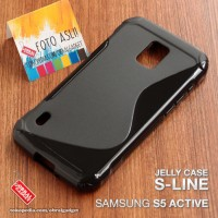 Samsung Galaxy S5 Active Tpu Soft Case Jelly Soft Case Silikon Cover