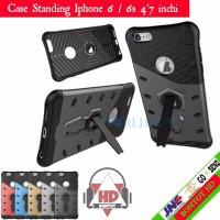 Turun Harga Case Hp Iphone 6 6s 4 7 inchi Hardcase Softcase Slim Armo