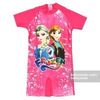 Babyzania Baju Renang Anak - Fuschia Frozen MURAH