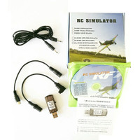 22in1 USB Flight Simulator G7/G6 Flysky F:S-I6 FS-TH9X FS-T6 FS-CT6B