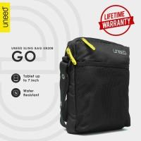 Uneed GO Tas Selempang Pria / Tas Sling Bag Water Resistant - UB208 - Black