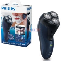 PHILIPS Aquatouch Shaver [AT620/14] - Black & New Midnight Blue