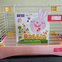 Harga Kandang Kelinci Marmut RABBIO Rabbit Cage Guinea Pig Cage AE26   WIKIPRICE INDONESIA