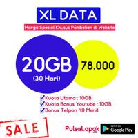 XL Combo Xtra 12GB, Bukan Combo Tipe lama Paket data internet perdana