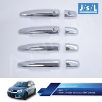 Suzuki Ignis Pegangan Pintu Mobil/Handle Cover Chrome Keyless Entry