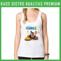 Kaos Tanktop Wanita Game-The Sims 1 TKT-AFS84