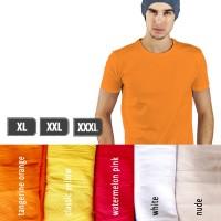 Kaos Polos Lengan Pendek Pria 100% Soft Combed XL XXL XXXL