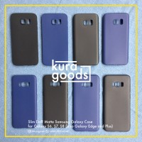 SLIM DOFF TPU Case Samsung Galaxy S6 S7 S8 ( dan Galaxy Edge ) Casing
